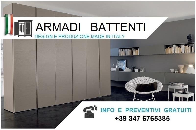 Armadio Ante Scorrevoli Altezza 290.Armadi Moderni Battenti Alti Da Cm 290 A 300 Bologna