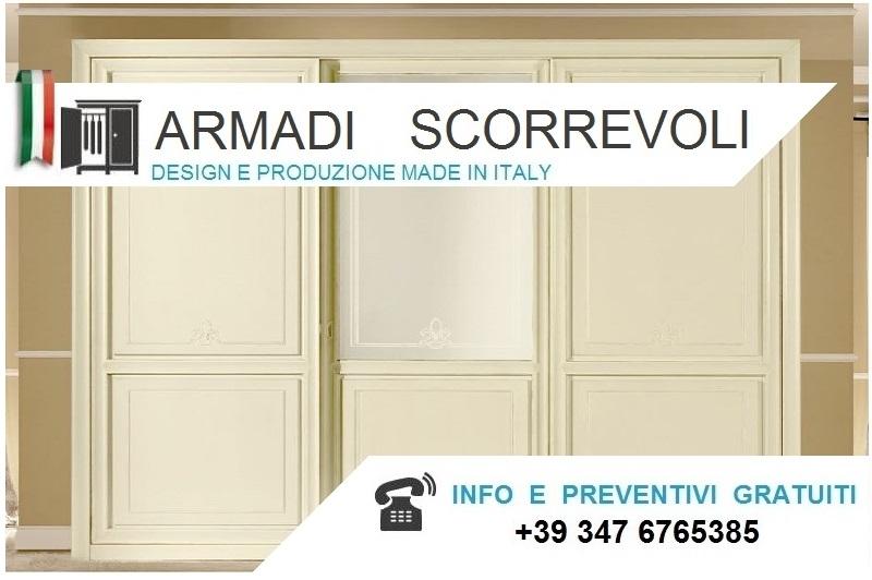 Armadi Classici Scorrevoli alti da cm.220 a 230 Bologna