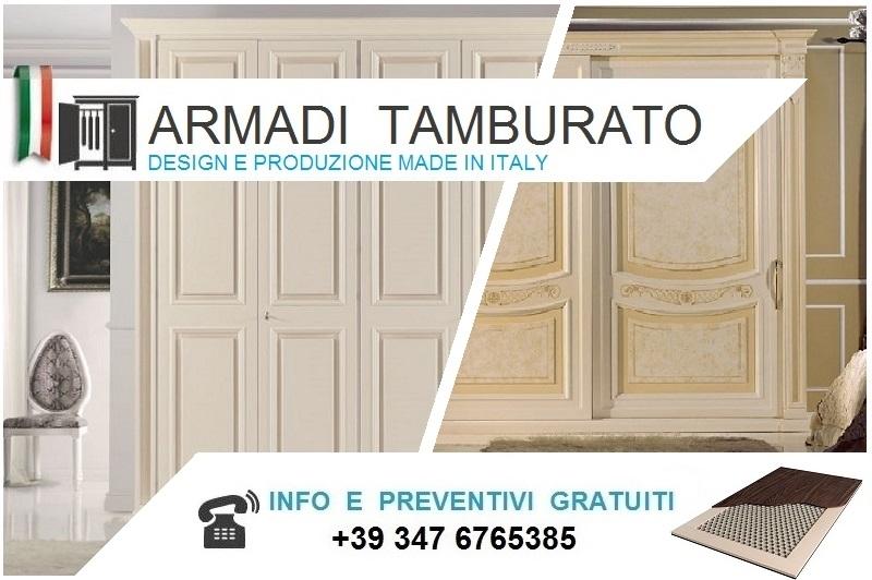Armadio Ante Scorrevoli Altezza 290.Armadi Classici Scorrevoli Tamburato Alti Da Cm 220 A 230 Bologna
