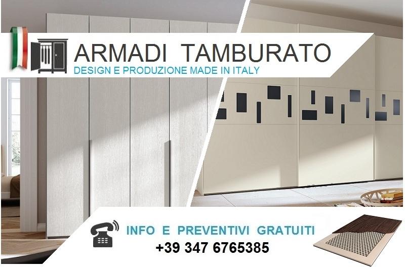 Armadio Ante Scorrevoli Altezza 290.Armadi Moderni Scorrevoli Tamburato Alti Da Cm 220 A 230 Bologna