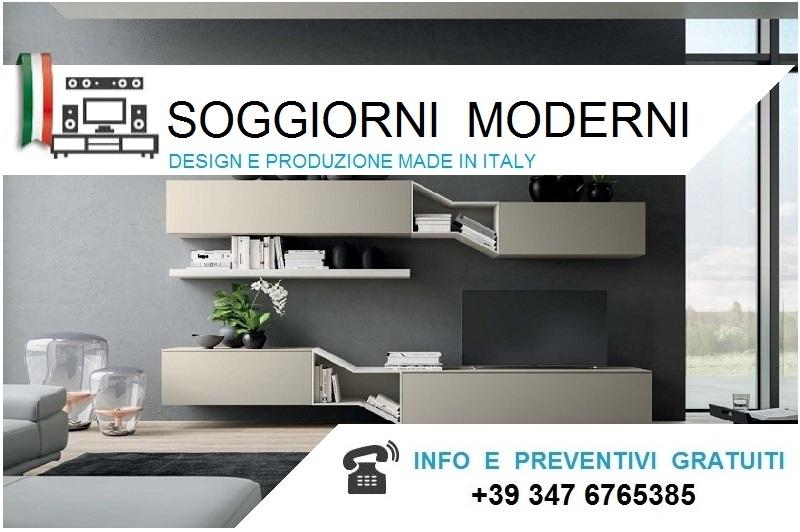 Soggiorni Moderni Bologna.Pareti Moderni