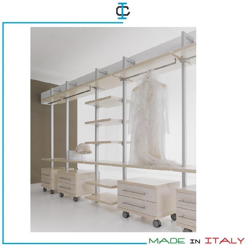 cabine armadio con csssettiera
