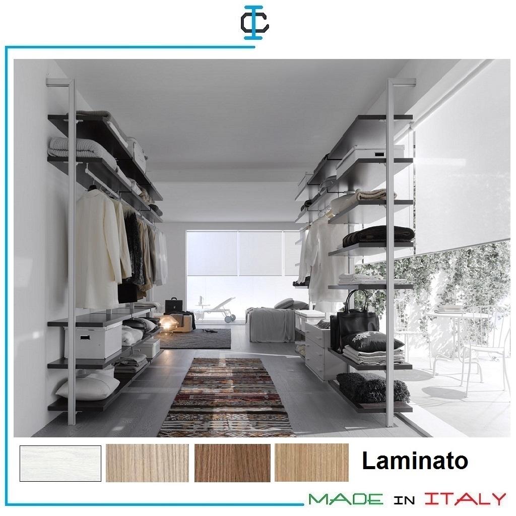 Cabine armadio moderne cheap cabine armadio with cabine armadio moderne fabulous cabina - Scaffali per cabine armadio ...