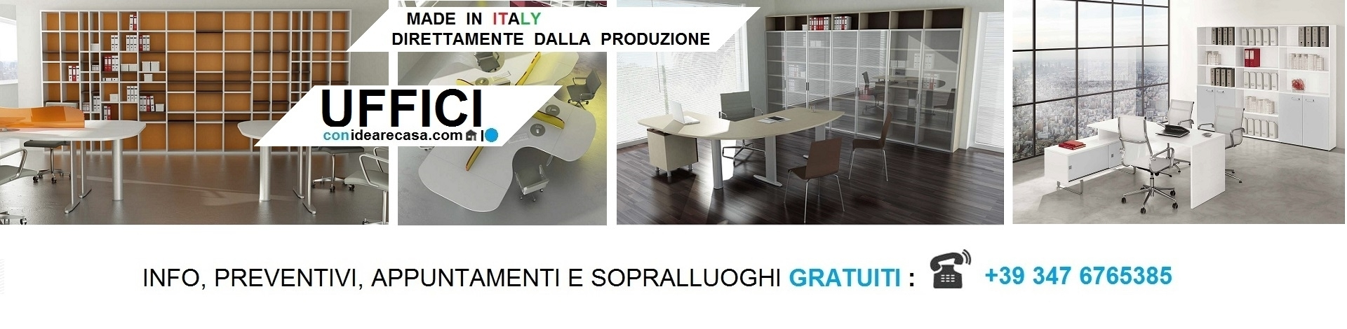 Arredo e Mobili per Uffici made in Italy a Bologna