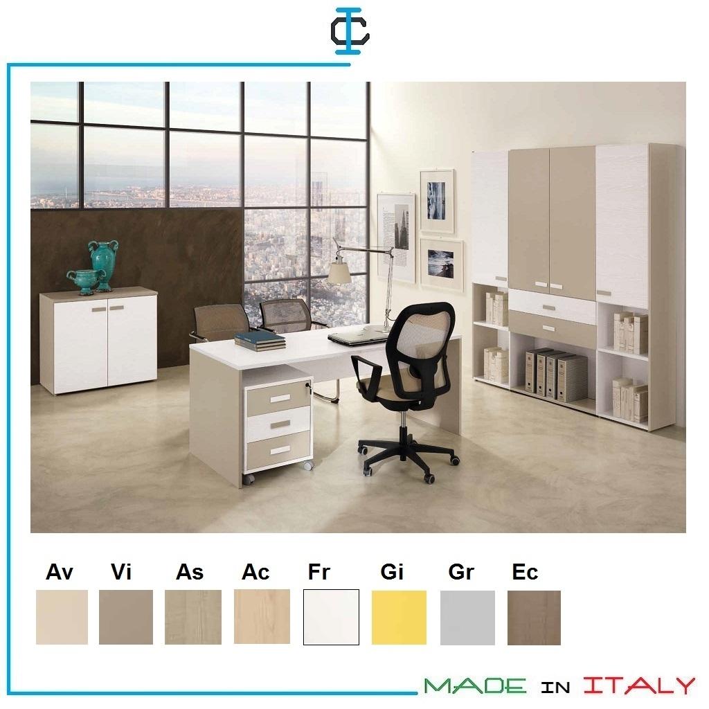 Armadio Ufficio 2 Ante.Mobili Ufficio Art Vauff07