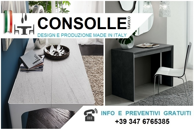 Consolle Allungabili Moderne.Consolle Allungabili E Consolle Tavolo Made In Italy Bologna
