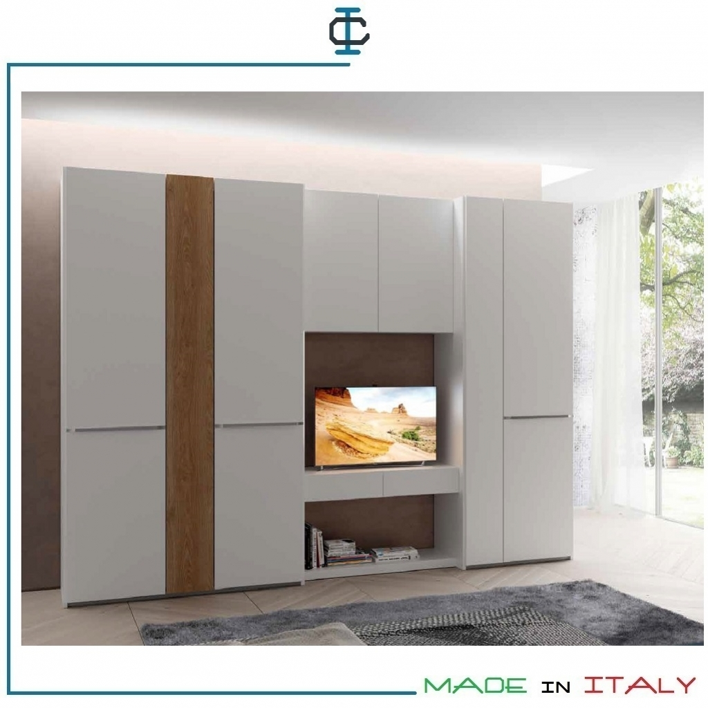 Armadio Porta Tv sospeso art. MEAC25H259