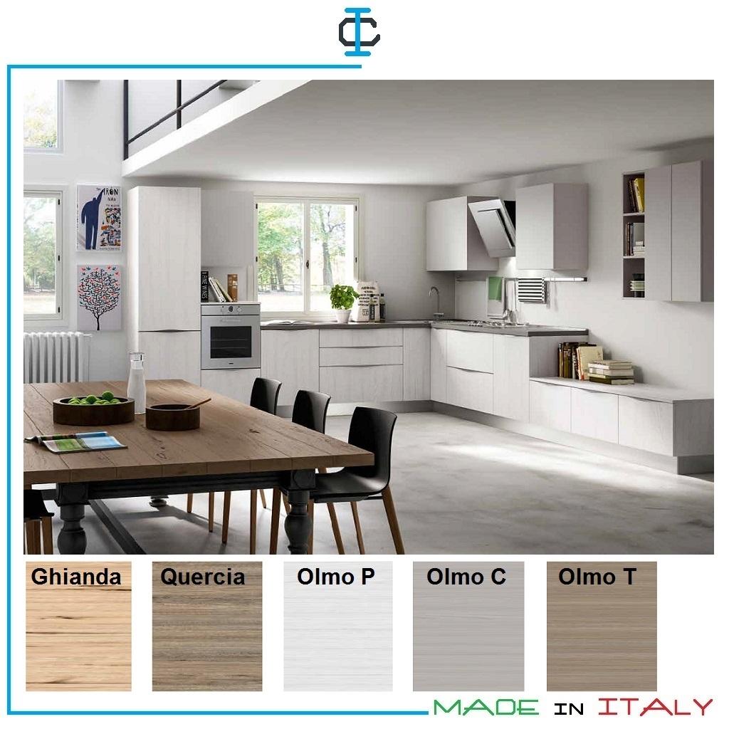Cucina con Zona TV art. ESAST07