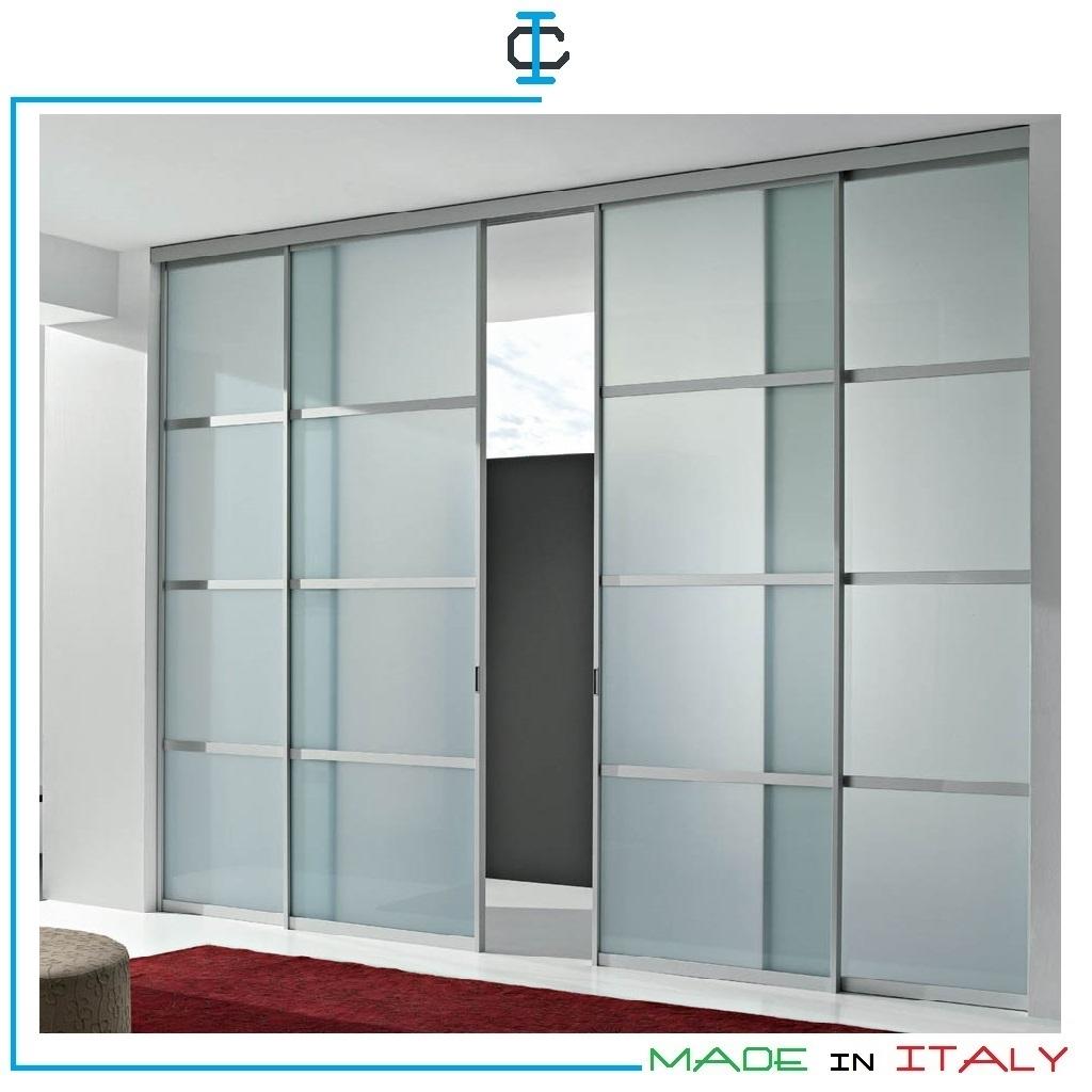 Porte Scorrevoli 4 Ante.Porte Divisorio Art Lpnaik461