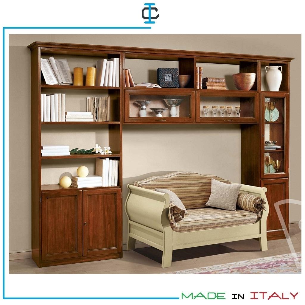 Librerie Classiche Componibili.Librerie Ponte Classiche H 260 Art Mido29h260