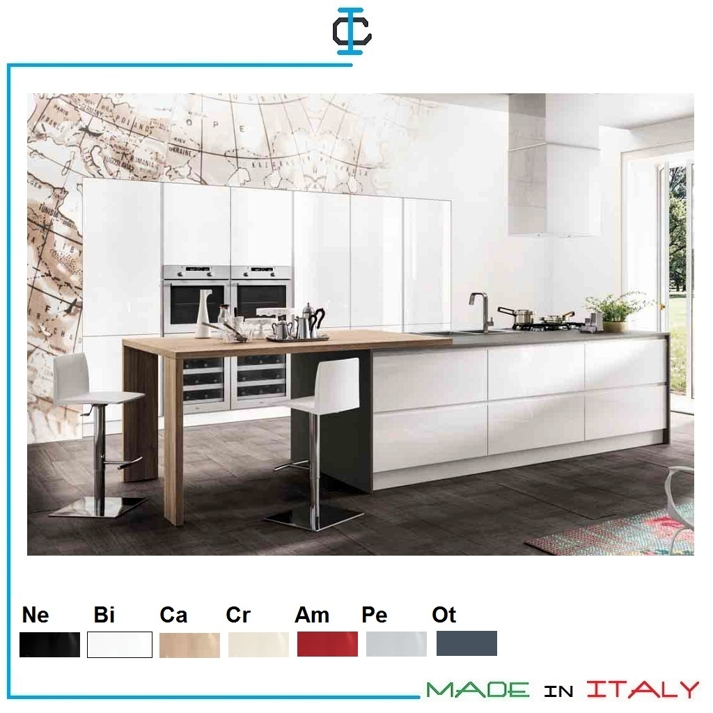 Cucine Bianche Lucide art. HOLUX05