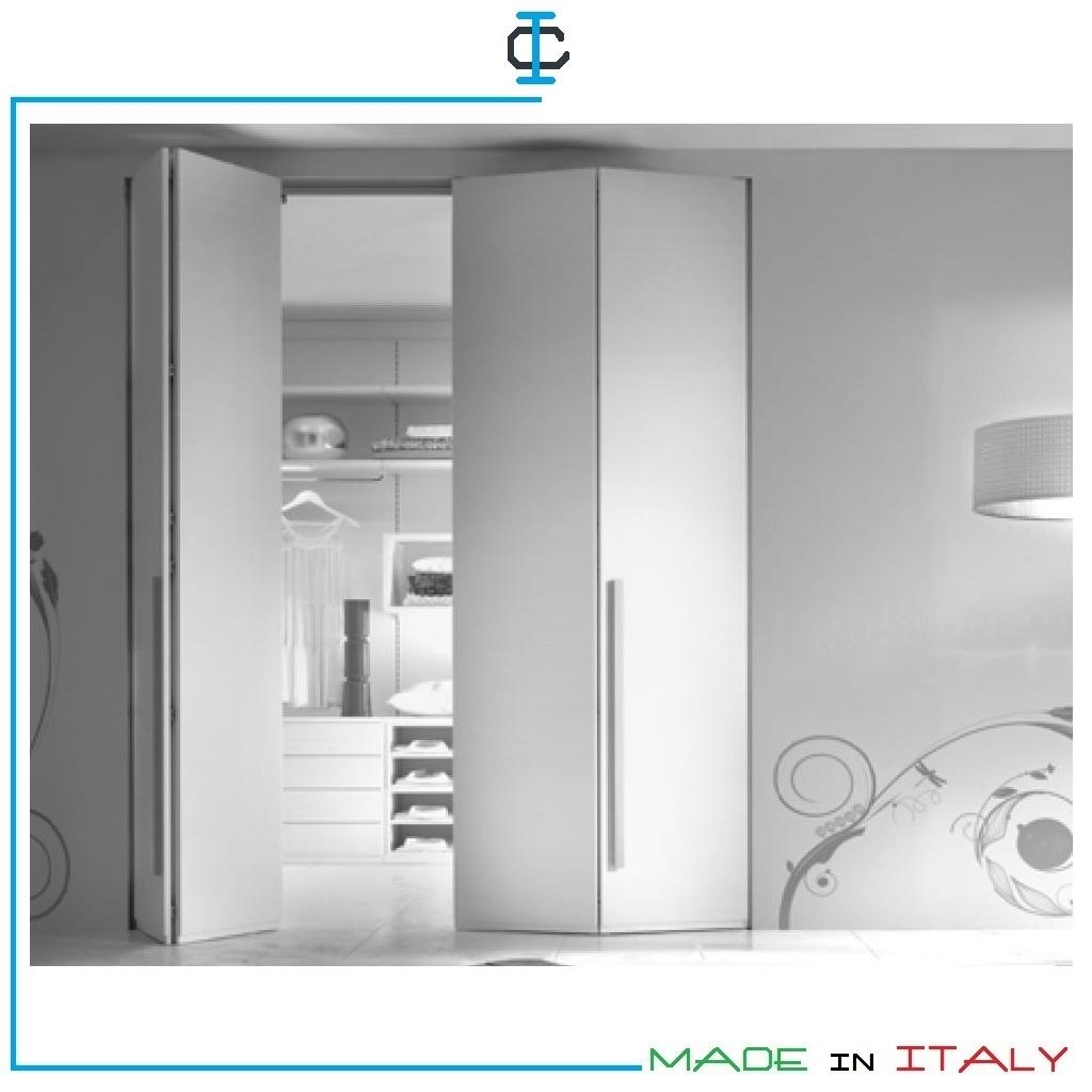 Ante a Soffietto per cabine armadio H.258 art. COPORSF236H258