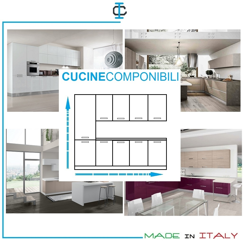 Cucine Componibili Preventivo on-line art. KComp