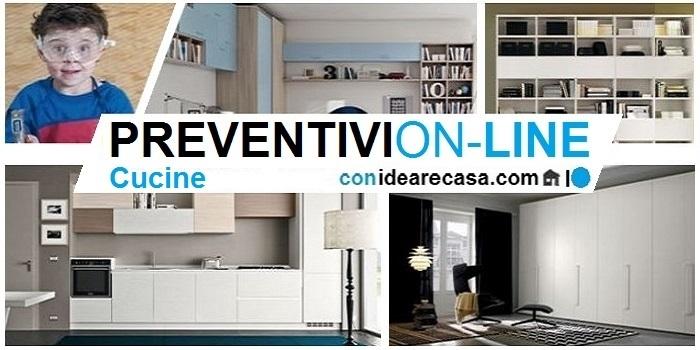 Cucine Componibili Preventivo on-line art. KComp