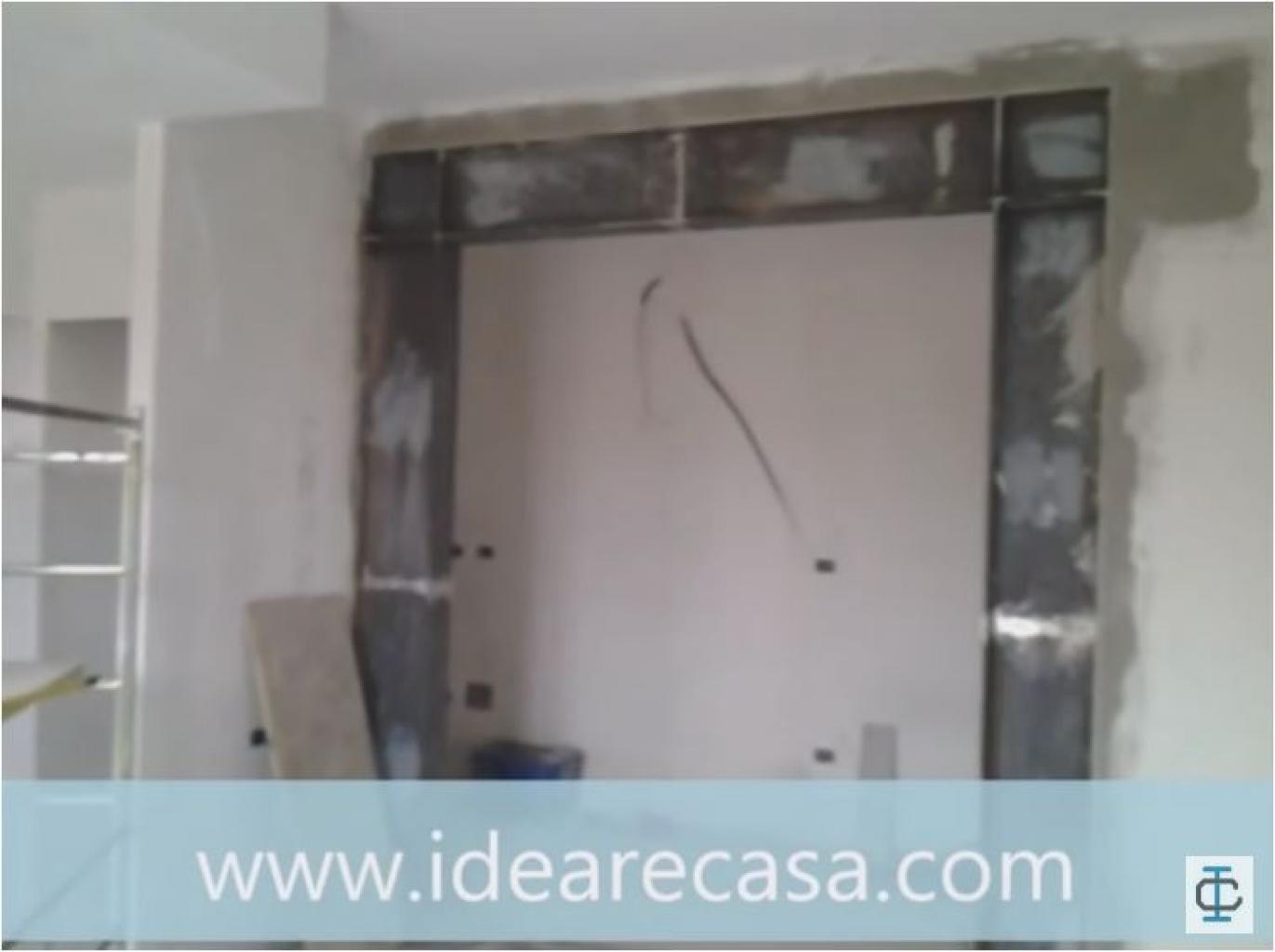 Porta Scorrevole Su Muro Portante cerchiatura parete portante.