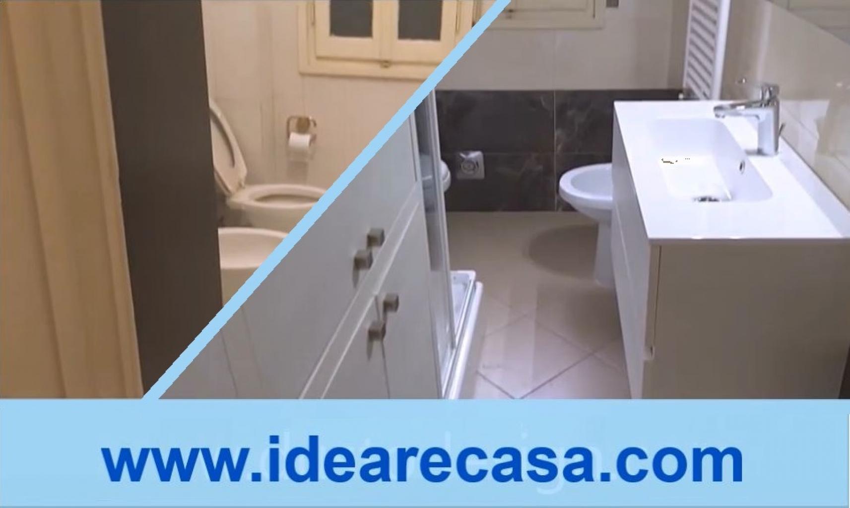 Bagno Con Doccia E Lavatrice.Ristrutturazione Bagno Con Colonna Porta Lavatrice Asciugatrice E
