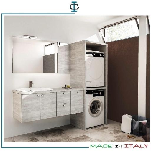 Arredo lavanderia a bologna - Mobile lavatrice asciugatrice ...