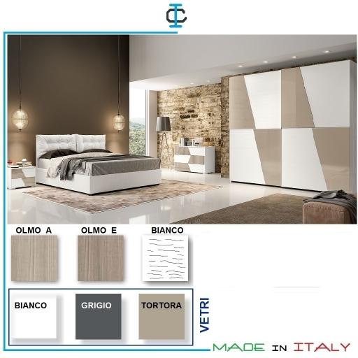 Camere moderne complete a bologna for Camere da letto complete moderne