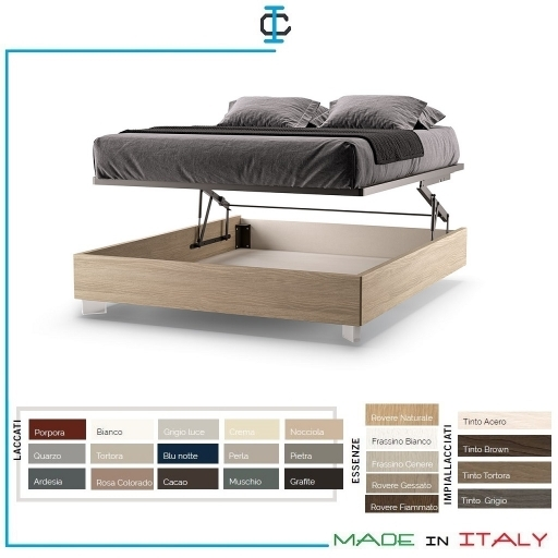 Letto Sommier con Box Plus